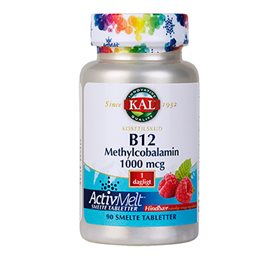 KAL B12 Methylcobalamin 90 Tabletter