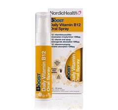 NordicHealt B12 Vitamin spray 300 mcg 25 ml - Hvornum
