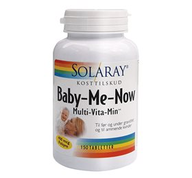 Solaray Baby-Me-Now - 150 tab