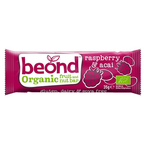 Beond Raw Acai & Hindbær bar 35 g