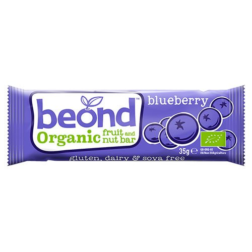 Beond Raw Blåbær bar 35 g
