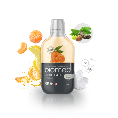 Biomed Citrus Fresh Mundskyl 500 ml - Hvornum