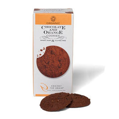Organic chocolate and orange cookies - Glutenfri, laktosefri og vegan - Hvornum