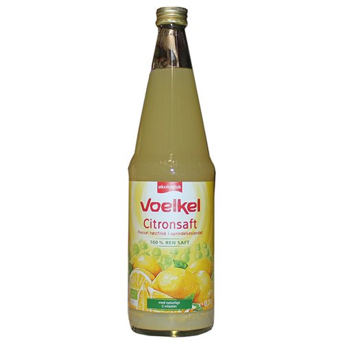 Voelkel Citronsaft Demeter 700 ml - Hvornum