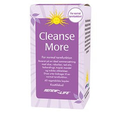 Renew Life Cleanse More 60 kap - Hvornum