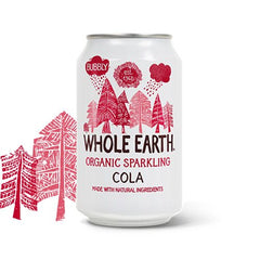 Whole Earth Cola & Citron Sodavand 330 ml - Hvornum