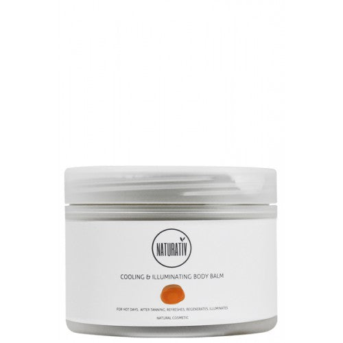 Naturativ Cool-Down & glitter Body creme 250 ml