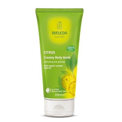 Weleda Citrus Creamy Body Wash 200 ml