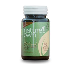 Natures own Curcumin plus Urte complex 60 kap