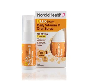 NordicHelath D3 Vitamin Spray Børn 10 mcg 15 ml - Hvornum