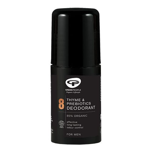 Green People no 8 Roll On Deo Thyme & Prebiotics - Mænd 75 ml