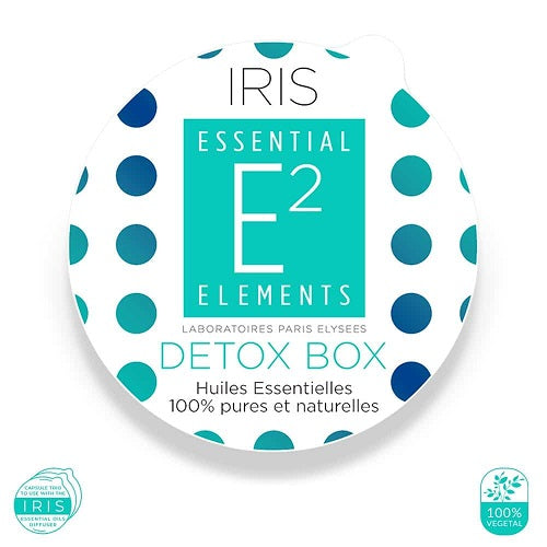 E2 Essential Elements Detox Box Til Iris-Diffuser - Hvornum