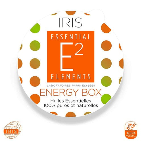 E2 Essential Elements Energy Box Til Iris-Diffuser 3 Kapsler - Hvornum