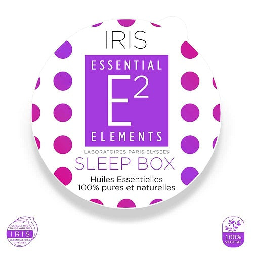 E2 Essential Elements Sleep Box Til Iris-Diffuser 3 Kapsler