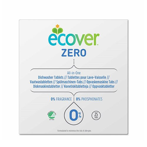 Ecover Opvasketabs All-In-One - Zero 500 g