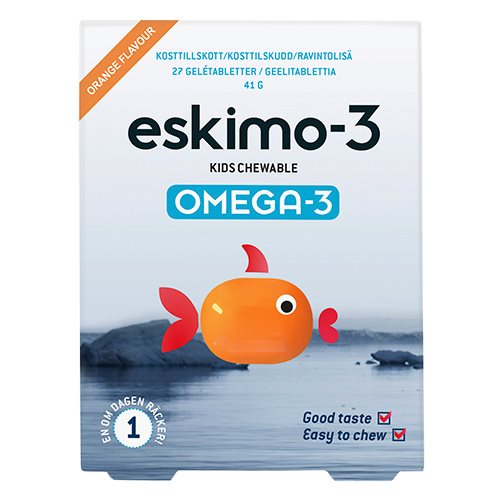 Eskimo-3 - Kids Chewable - 27 stk