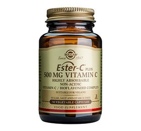 Solgar Ester C - Vitamin Plus 500 mg - Hvornum