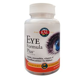 KAL Eye Formula Plus 60 Tabletter