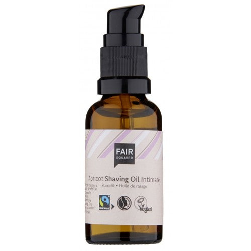 Fair Squared Abrikos Intim - Shaving oil - Women - Zero Waste 30 ml - Hvornum
