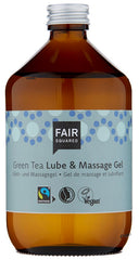 Fair Squared Green Tea Lube & Massage Gel - Zero Waste 500 ml - Hvornum