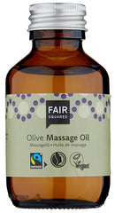 Fair Squared Oliven Basis Massage Olie - Zero Waste 100 ml - Hvornum