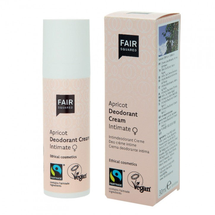 Fair Squared Apricot Intimate Deodorant cream 30 ml