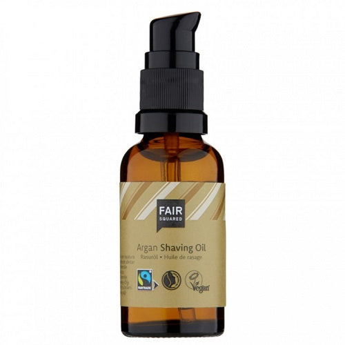 Fair Squared Argan Shaving Oil - Zero Waste 30 ml