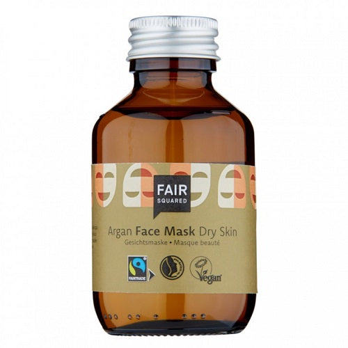 Fair Squared Argan Sheet Mask Serum - Tør Hud - Zero Waste 100 ml