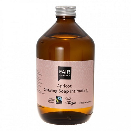 Fair Squared Apricot Intimate Shaving Soap - Sero Waste 500 ml - Hvornum