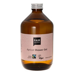 Fair Squared Apricot Showergel - Zero Waste 500 ml - Hvornum