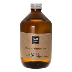 Fair Squared - Coconut Shower Gel - Zero Waste 500 ml - Hvornum