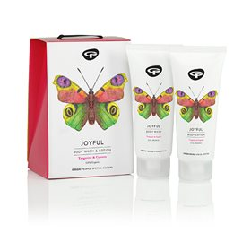 Green People Joyful bodyshampoo & lotion 100 ml