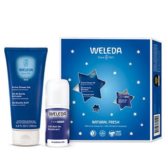 Weleda Men Gaveæske Natural Fresh Deo 50 ml & Body wash 200 ml - Hvornum