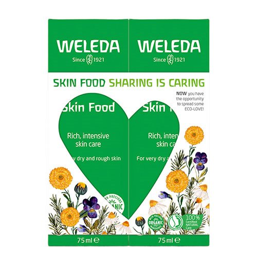 Weleda Gaveæske Skin Food Duo Pakke 2x75 ml