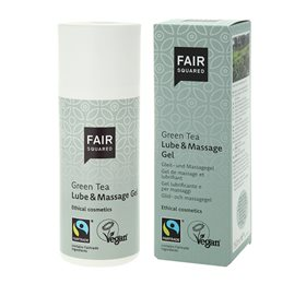 Fair Squared Glidecreme & Massage gel med grøn te 150 ml