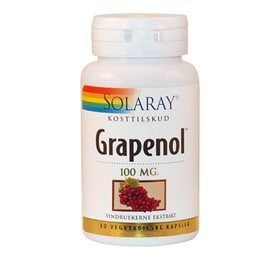 Solaray Grapenol 100 Mg 30 kapsler