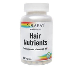 Solaray Hair Nutrients - 60 tab - Hvornum