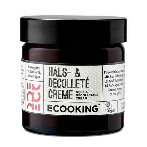 Ecooking Hals & Decolleté Creme 50 ml - Hvornum