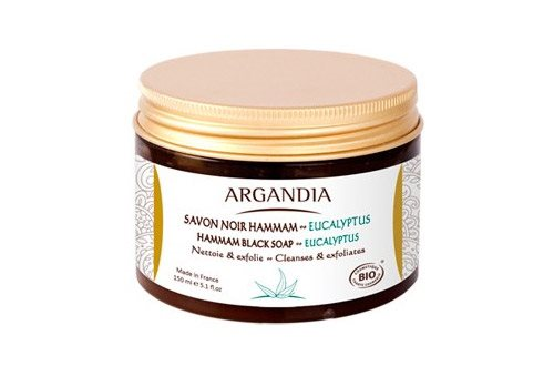 Argandia Hamman Black Soap Eucalyptus 150 ml