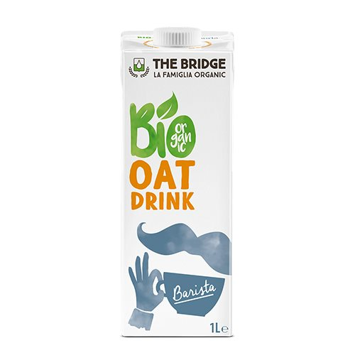The Bridge Oat Drink - Havre Barista 1 liter - Hvornum