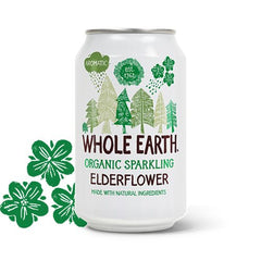 Whole Earth Hyldeblomst Sodavand 330 ml - Hvornum