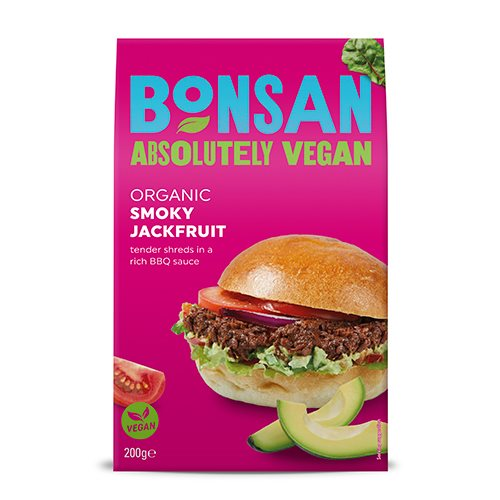 Bonsan Smoky Jackfrugt - Findelt 200 g