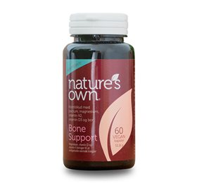 Natures own Bone support wholefood 60 kap - Hvornum