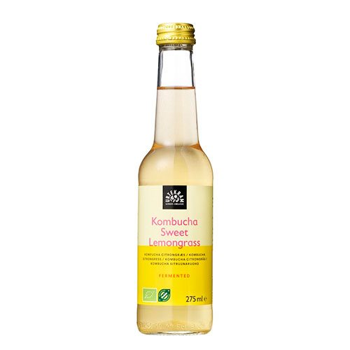 Urtekram Kombucha Sweet Lemongrass 275 ml