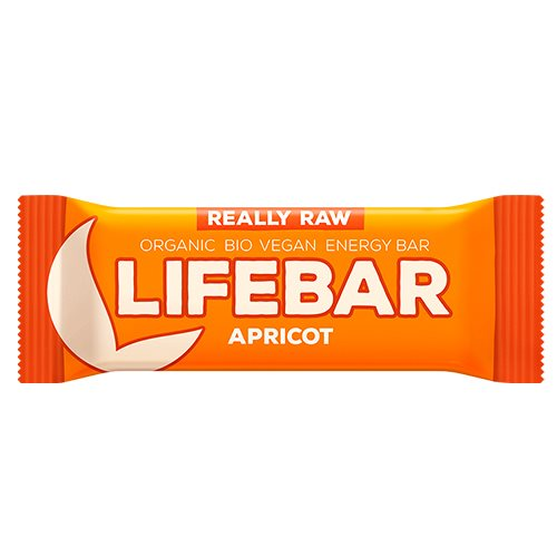 Lifebar Raw Abrikos 47 g