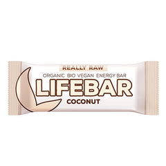 Lifebar Raw Kokos bar 47 g - Hvornum