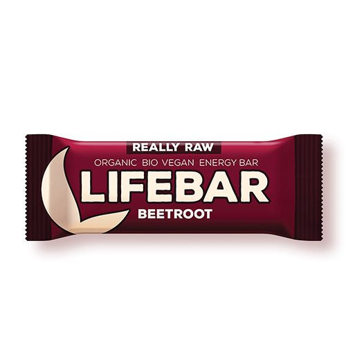 Lifebar Raw Rødbede 47 g