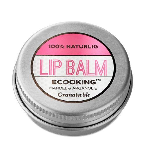 Ecooking Lip Balm Granatæble 15 ml - Hvornum