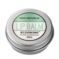 Ecooking Lip Balm - Mint 15 ml - Hvornum