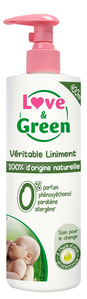 Love and Green Baby liniment 400 ml
